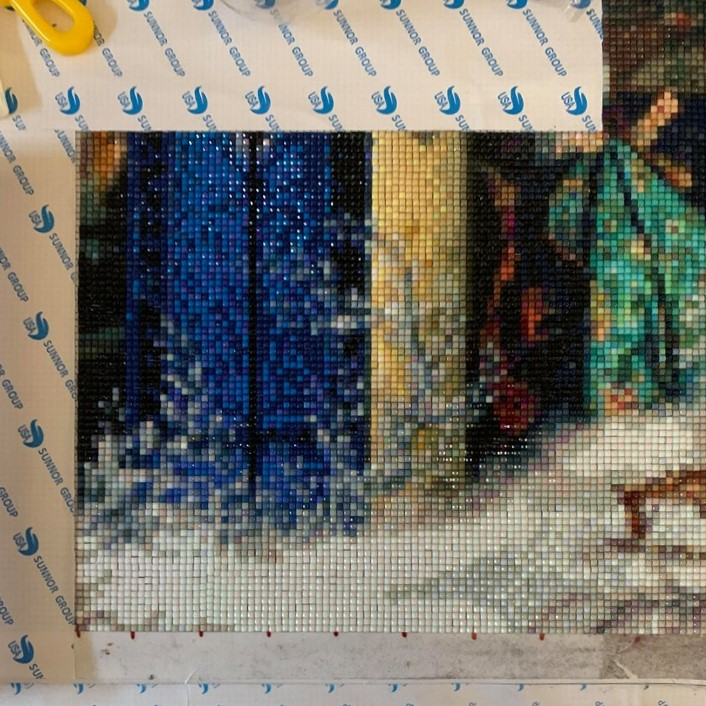 A stitch in time – mijn diamond painting avontuur